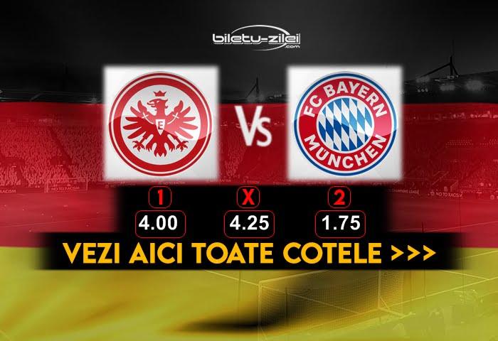 Frankfurt Bayern Cote Pariuri