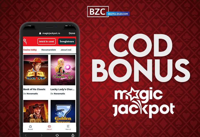 Cod bonus Magic Jackpot