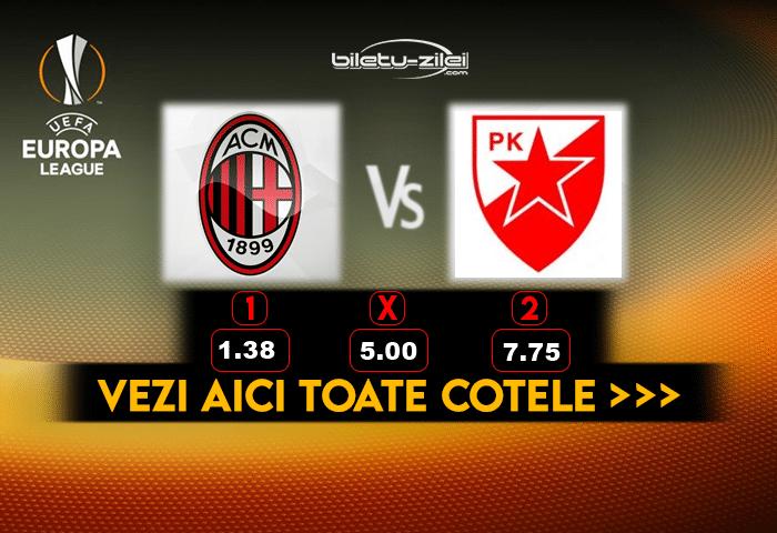 Milan Steaua Rosie ponturi