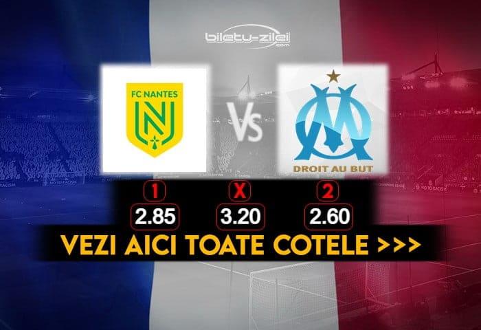Nantes Marseille Cote Pariuri 20022021
