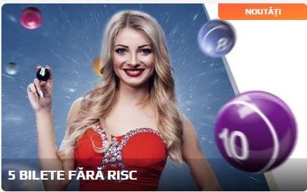 Joacă 5 bilete la Loto fără riscul de a pierde