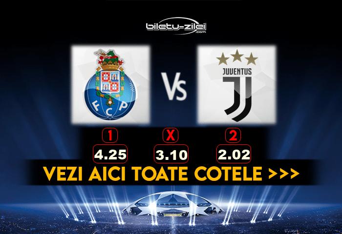 Porto Juventus Cote Pariuri 17022021