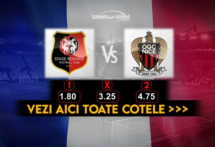 Rennes Nice Cote Pariuri