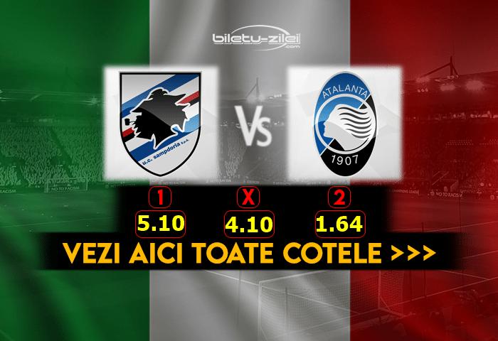 Sampdoria Atalanta Cote Pariuri 28022021