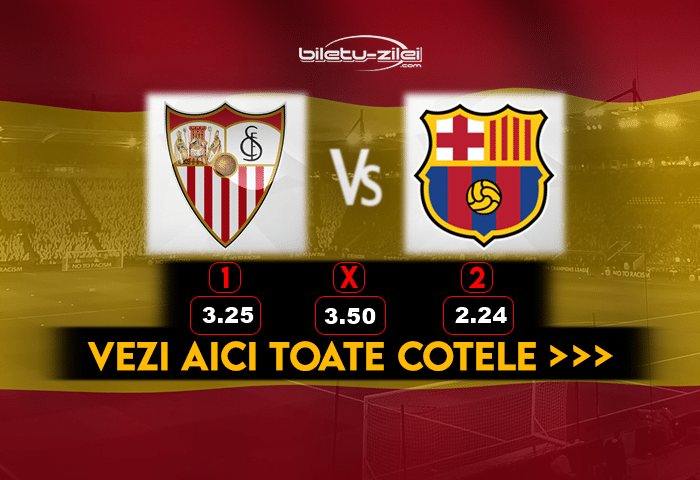 Sevilla Barcelona ponturi