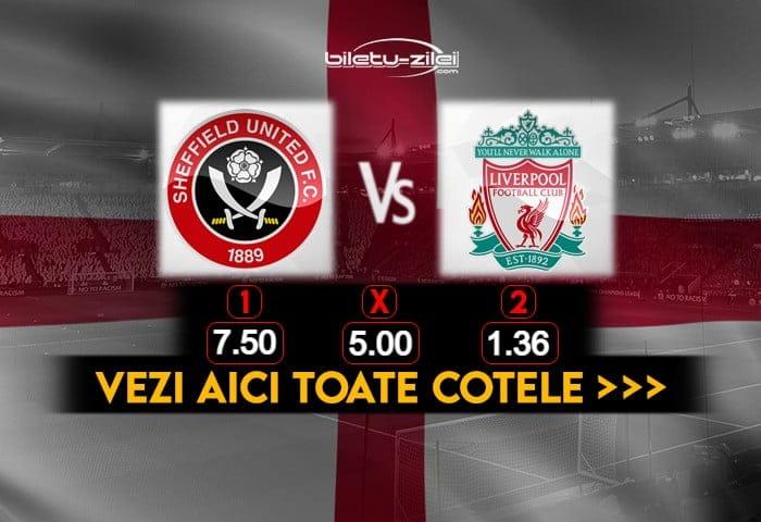 Sheffield United Liverpool Cote Pariuri 28022021
