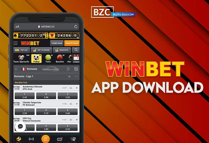 Winbet app download