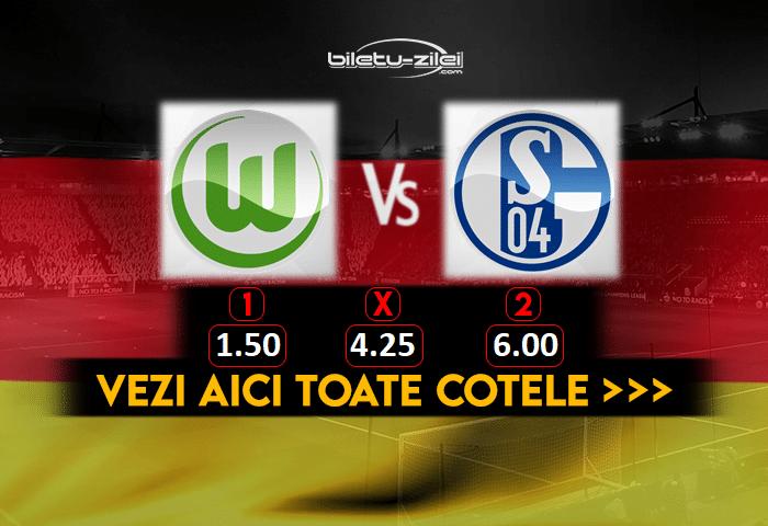 Wolfsburg Schalke Cote Pariuri