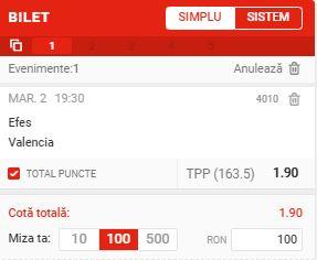 Efes Pariu Euroliga 02032021