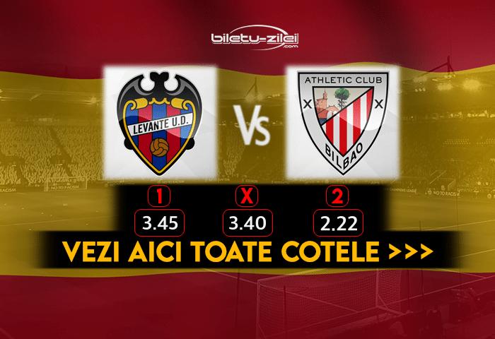 Levante Bilbao Cote Pariuri 04.03.2021