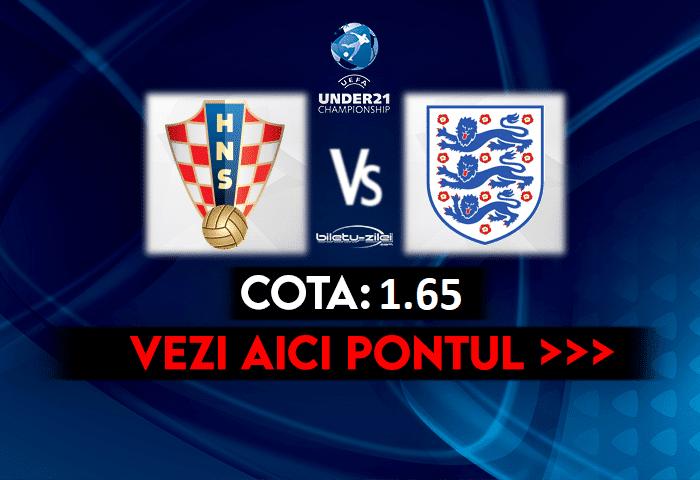 Croatia U21 – Elvetia U21 ponturi pariuri 28.03.2021