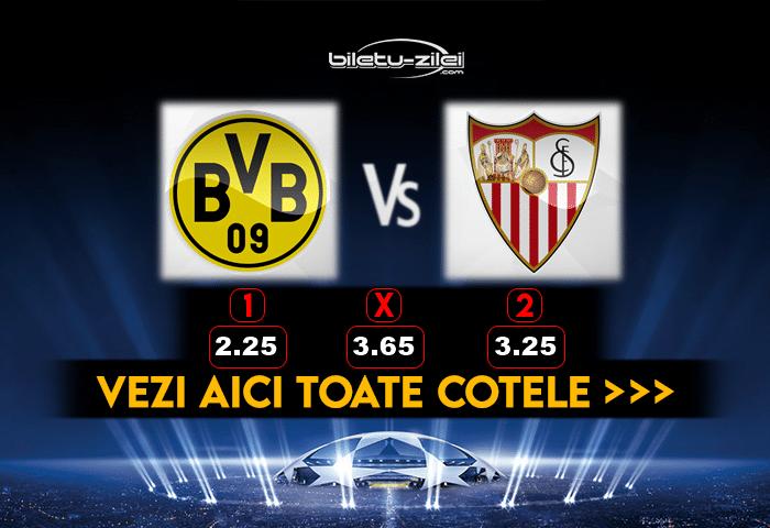 Dortmund Sevilla Cote Pariuri 09032021