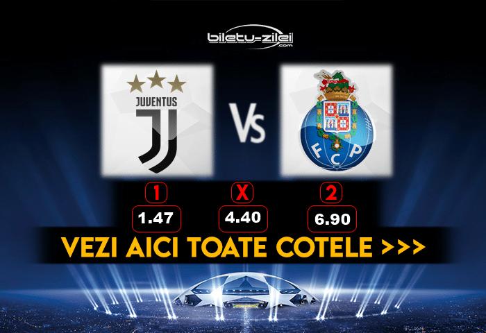 Juventus Porto pronosticuri
