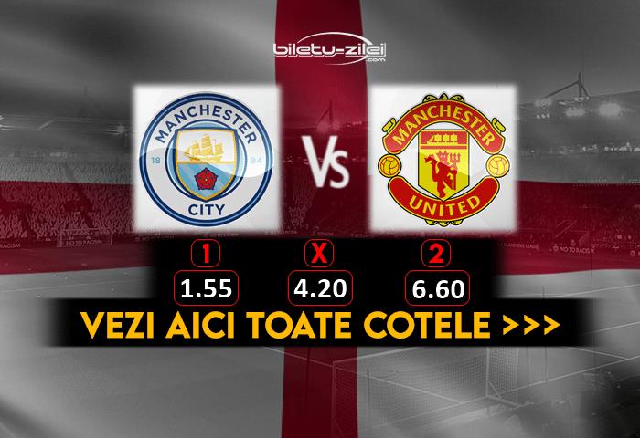 Manchester City Manchester United Cote Pariuri 07032021 1