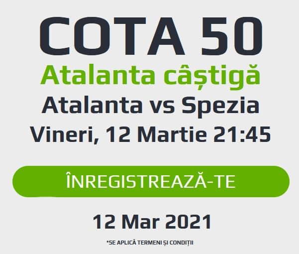 Netbet Atalanta Castiga Cota 50