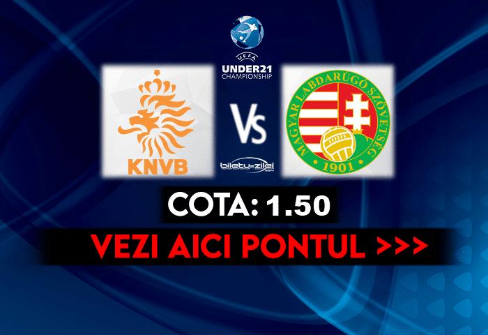 Olanda U21 – Ungaria U21 ponturi pariuri 30.03.2021
