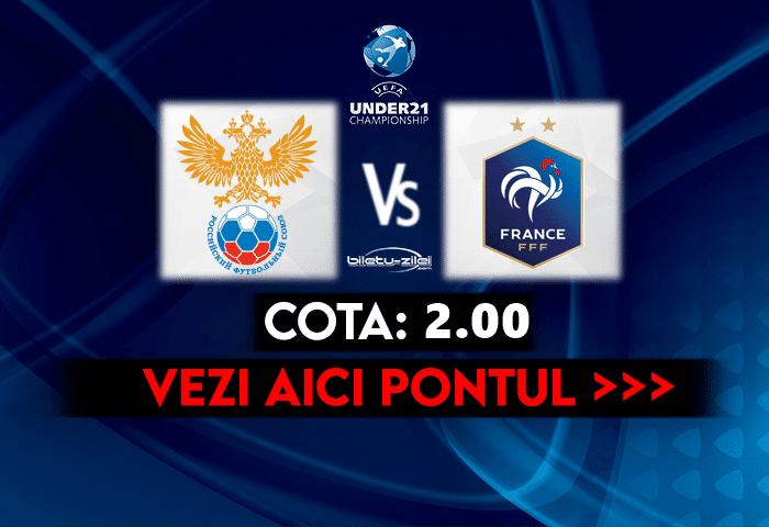 Rusia U21 – Franta U21 ponturi pariuri 28.03.2021