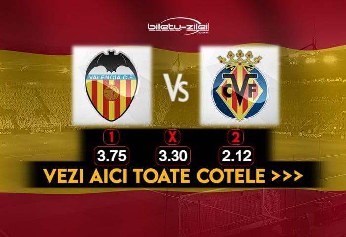 Valencia Villarreal Cote Pariuri 05032021
