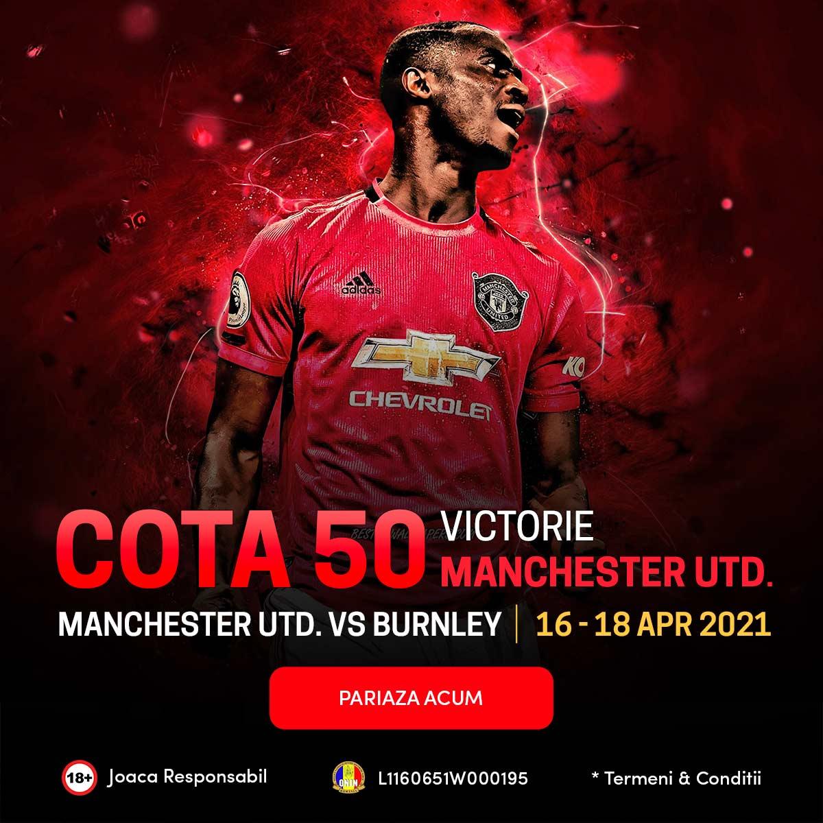 banner cota 50 manchester united