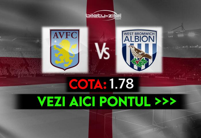 Aston Villa – West Brom ponturi pariuri 25.04.2021