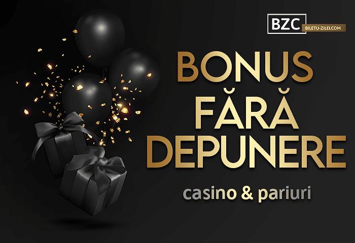 bonus fara depunere casino pariuri 2