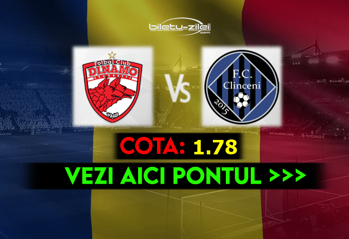 Dinamo – Academica Clinceni ponturi pariuri 09.04.2021