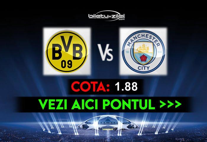 Dortmund – Manchester City ponturi pariuri 14.04.2021