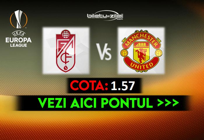 Granada – Manchester United ponturi pariuri 08.04.2021