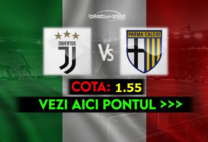 Juventus – Parma ponturi pariuri 21.04.2021