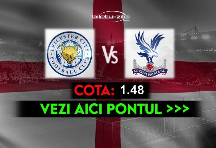 Leicester – Crystal Palace ponturi pariuri 26.04.2021