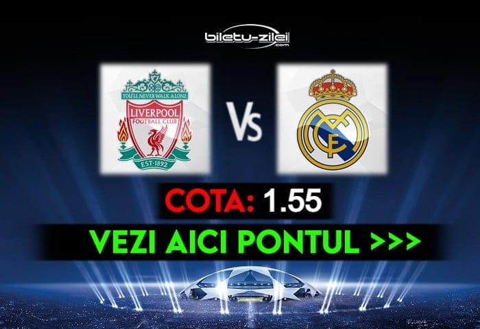 Liverpool – Real Madrid ponturi pariuri 14.04.2021