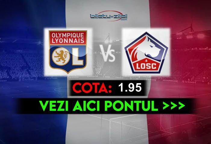 Lyon – Lille ponturi pariuri 25.04.2021