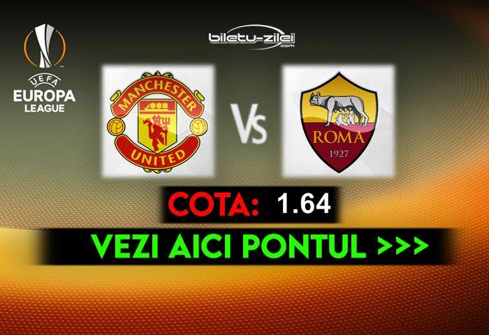 Manchester United – AS Roma ponturi pariuri 29.04.2021