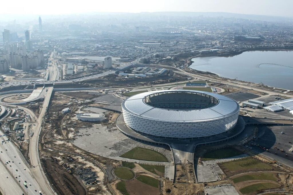 olympic stadium baku stadioane campionatul european 2021