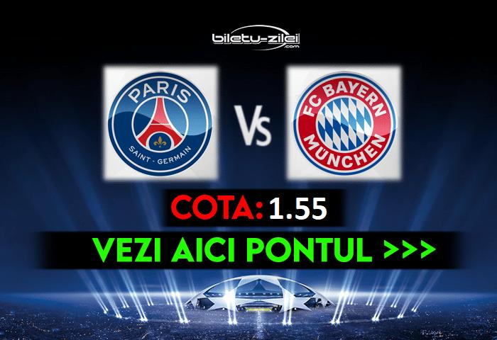 PSG – Bayern ponturi pariuri 13.04.2021