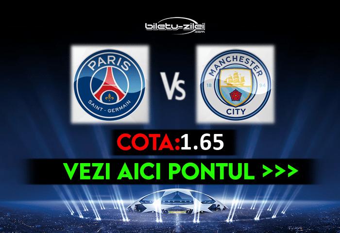 PSG – Manchester City ponturi pariuri 28.04.2021