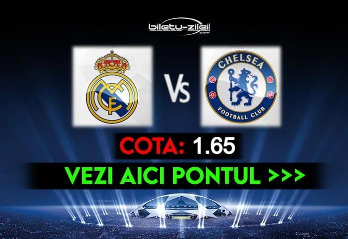 Real Madrid – Chelsea ponturi pariuri 27.04.2021