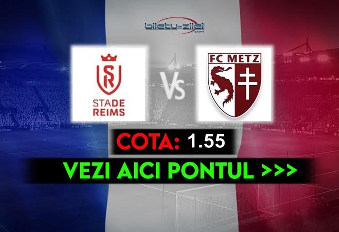 Reims – Metz ponturi pariuri 18.04.2021