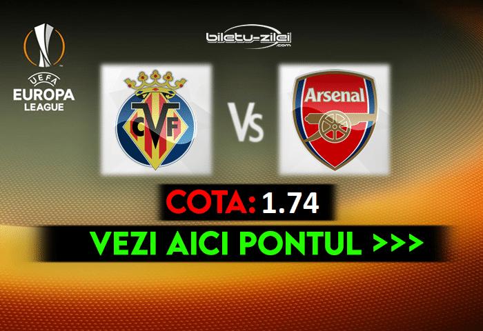 Villarreal – Arsenal ponturi pariuri 29.04.2021