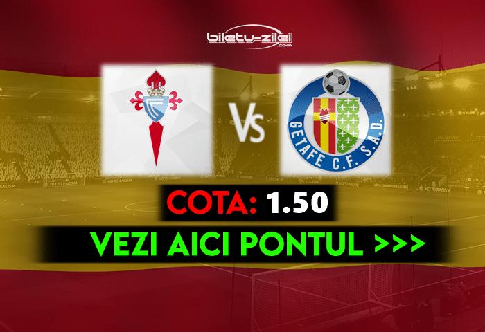 Celta Vigo – Getafe ponturi pariuri 12.05.2021