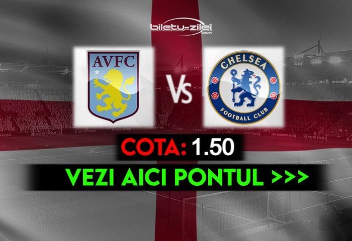 Aston Villa – Chelsea ponturi pariuri 23.05.2021