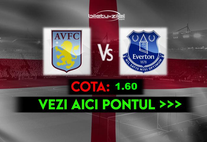 Aston Villa – Everton ponturi pariuri 13.05.2021