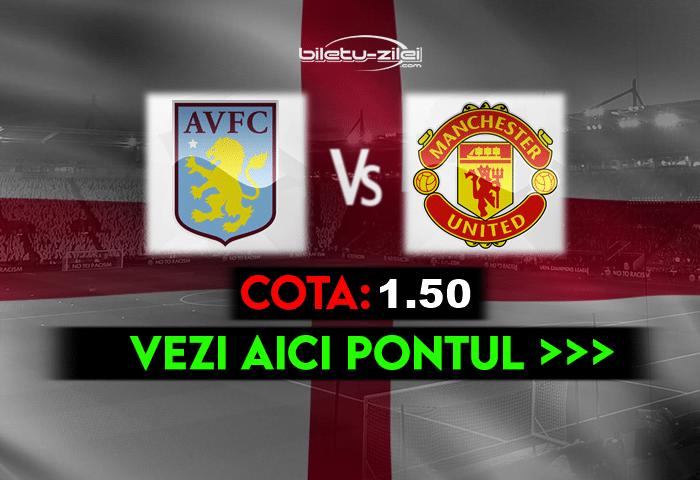 Aston Villa – Manchester United ponturi pariuri 09.05.2021