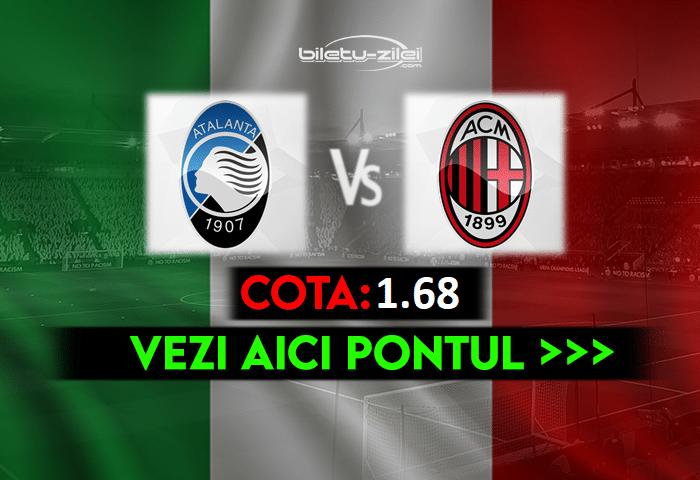 Atalanta – Milan ponturi pariuri 23.05.2021