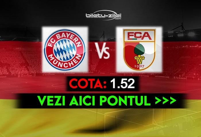 Bayern – Augsburg ponturi pariuri 22.05.2021