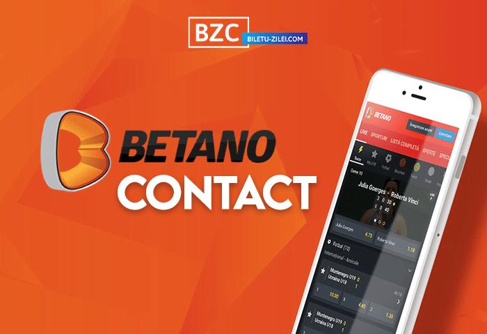 Betano Contact