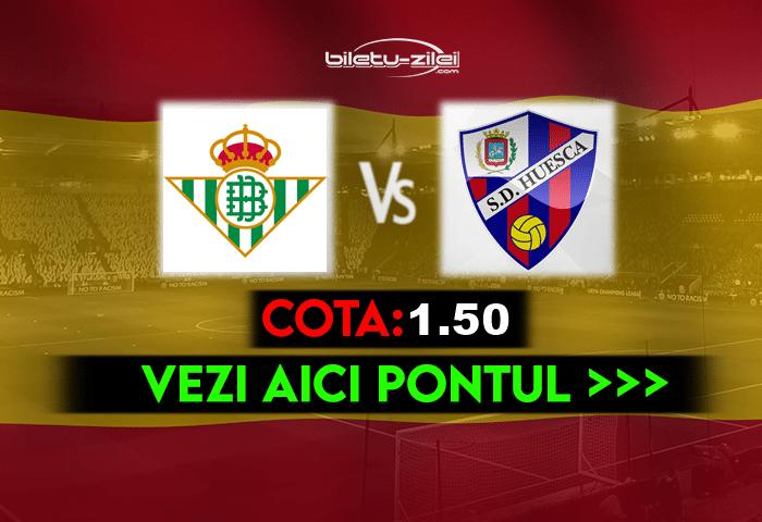 Betis – Huesca ponturi pariuri 16.05.2021