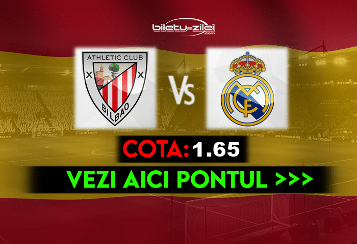 Bilbao – Real Madrid ponturi pariuri 16.05.2021