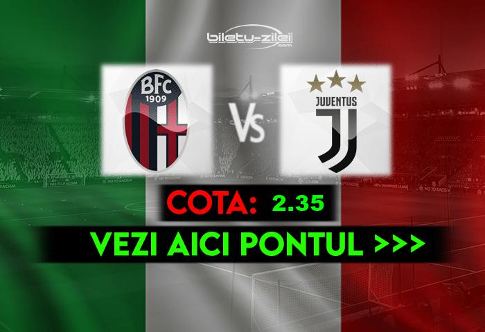 Bologna – Juventus ponturi pariuri 23.05.2021