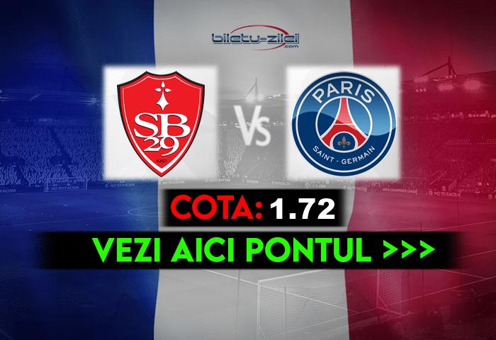 Brest – PSG ponturi pariuri 23.05.2021